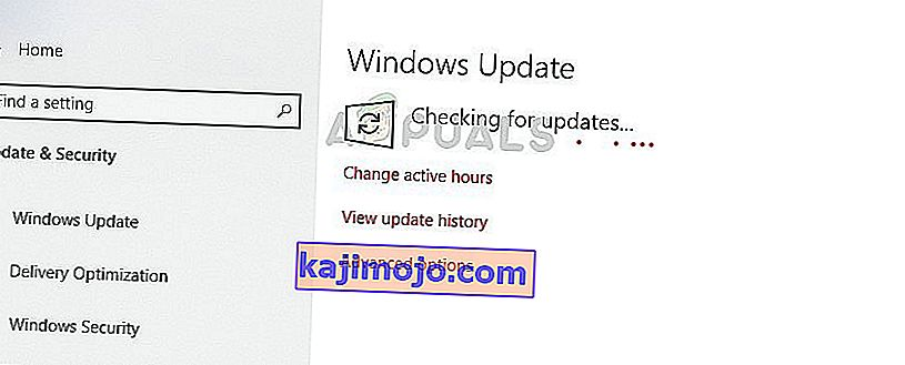 Updating Windows - Update manager