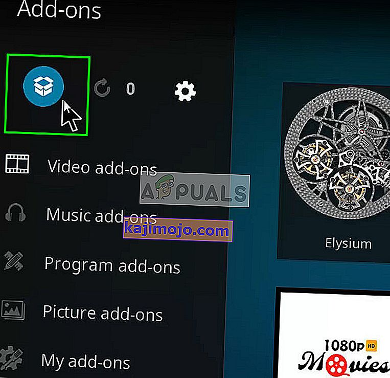 Adding a new add-on in Kodi